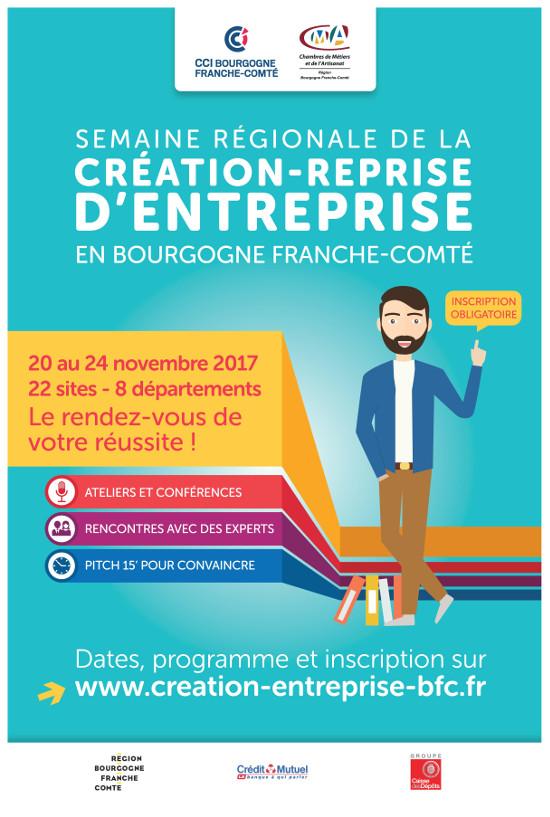Semaine Création-Reprise d'Entreprise 2017